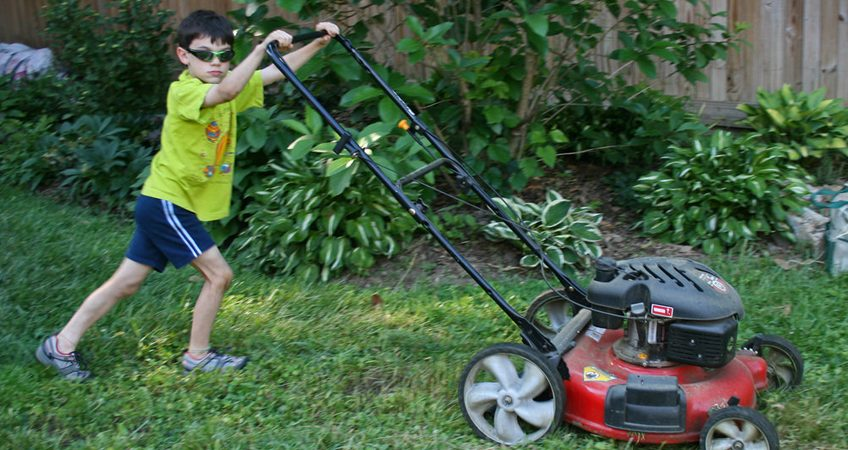Child Mower Safety